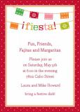 Banner Fiesta Invitation Personalized by Boatman Geller