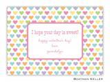 Candy Hearts Boatman Geller Valentine Card