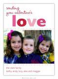 Love Valentine Boatman Geller Valentine Digital Flat Photocard