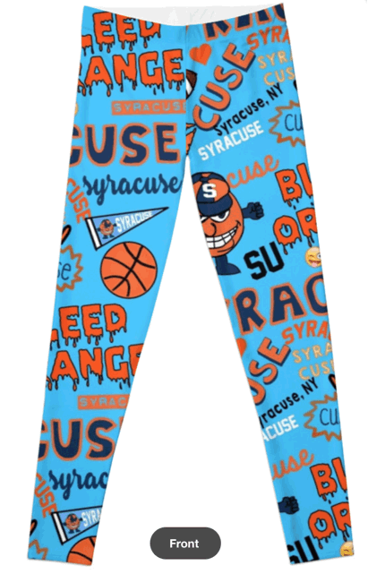 Syracuse University Orange Leggins