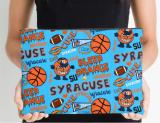 Syracuse University Oranges Zippered Pouch, School Spirit Design