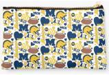 University of Michigan Wolverines Zippered Pouch, School Spirit Design