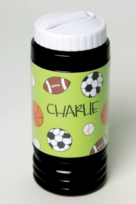 Sport Bottle with Straw - Sports Madness