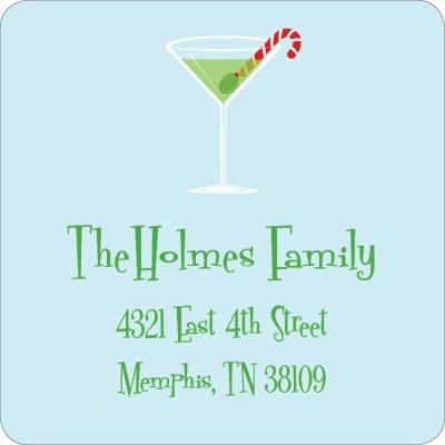Holiday Martini Sky Label