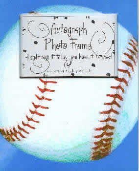 Baseball Autograph Photo Frame