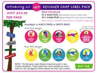 designer camp pack