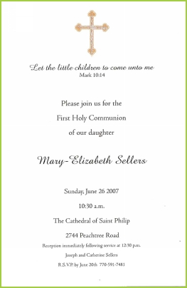 religious events communion christening baptism baby naming