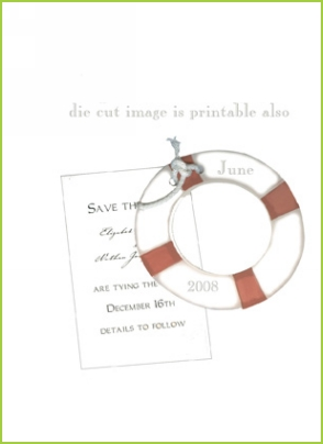 Life Preserver with rope tag
