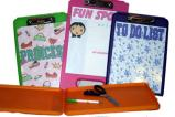 Camping clipboard for girls - sleepaway camp gear & gifts