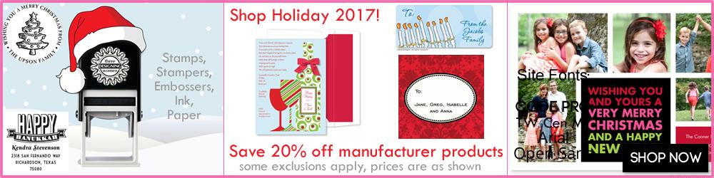 Christmas and Hanukkah Holiday Products