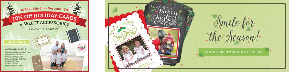 Christmas Photo Card Sale