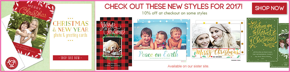 Christmas Holiday Invitations and Greeting Cards
