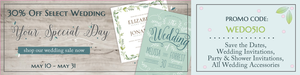 Save on Wedding Stationery