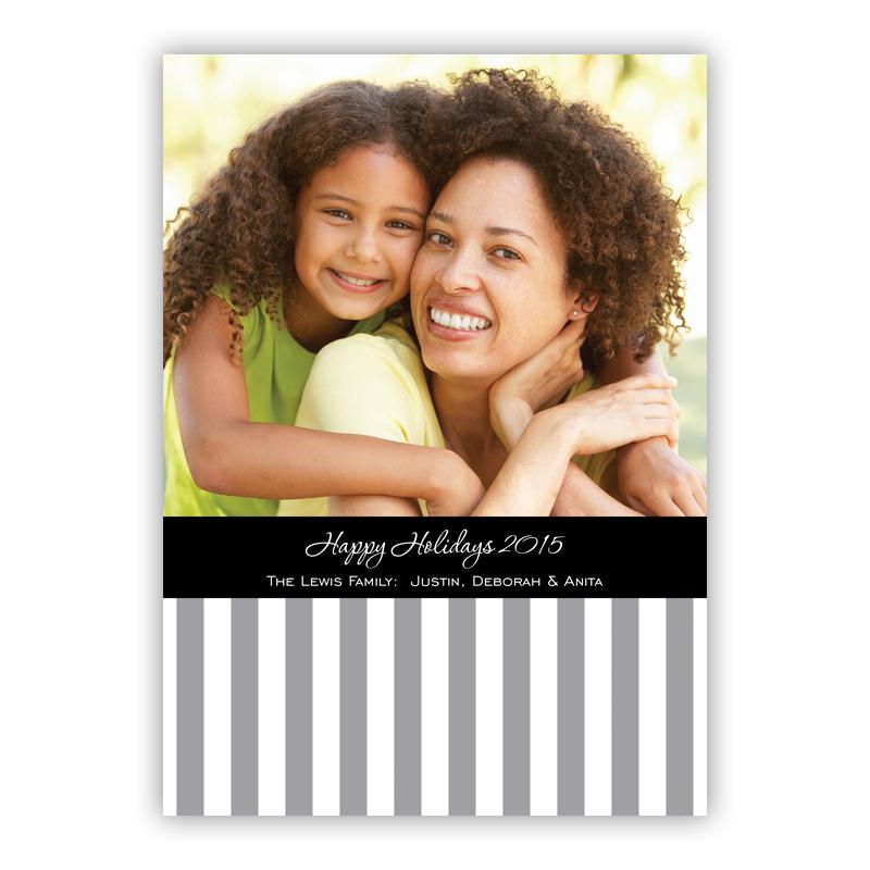 Gift Box Holiday Photocard