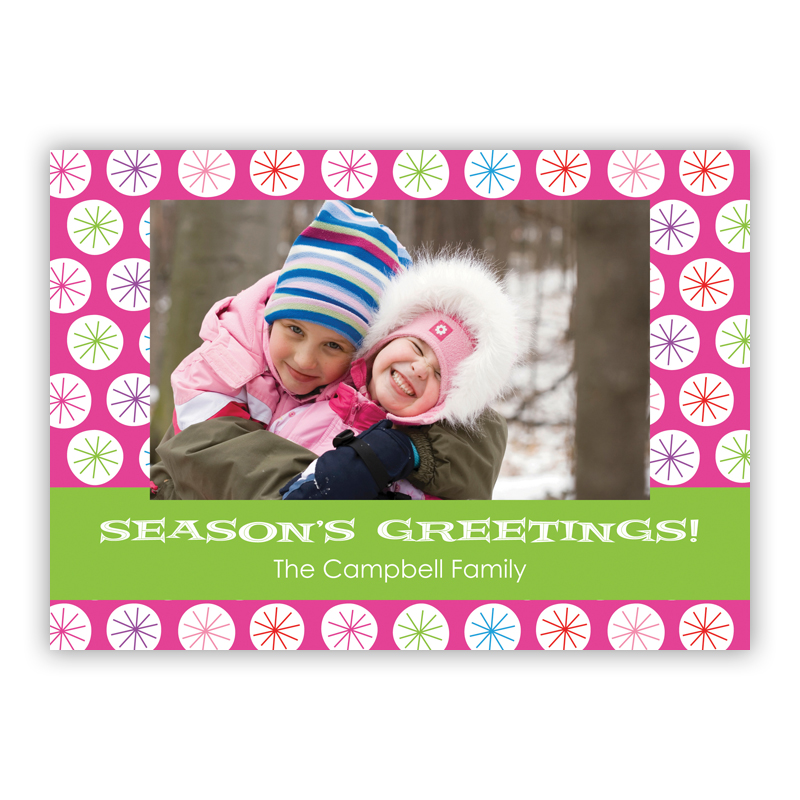 Fresh and Minty Holiday Photocard