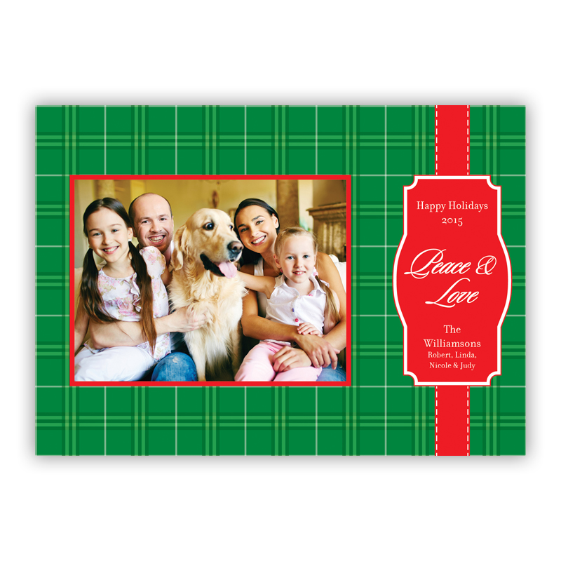 Packaged Holiday Photocard