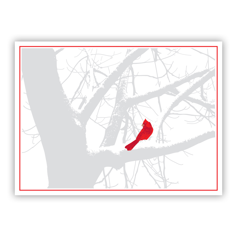 Cardinal Holiday Greeting Card
