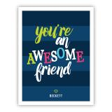 Awesome Tiny Valentines Day Cards, Personalized, qty 16