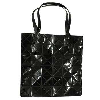 Triangle Design Tote Bag with Zipper