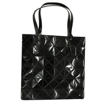 Triangle Design Tote Bag with Zipper