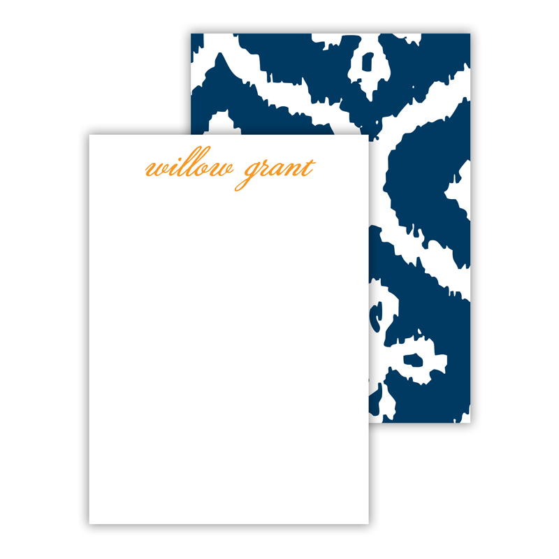Montauk Personalized Mini Flat Note Card (25 cards)
