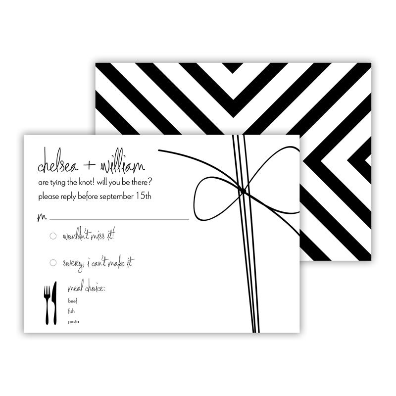 Nolita 25 Personalized Response Cards