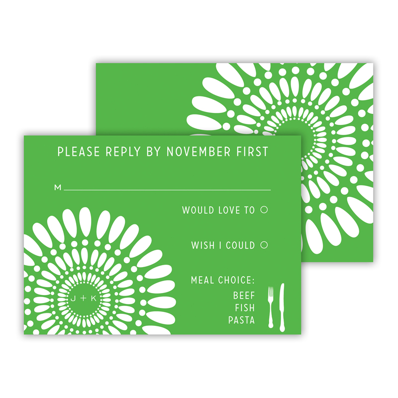 Medallion 2 25 Personalized Response Cards