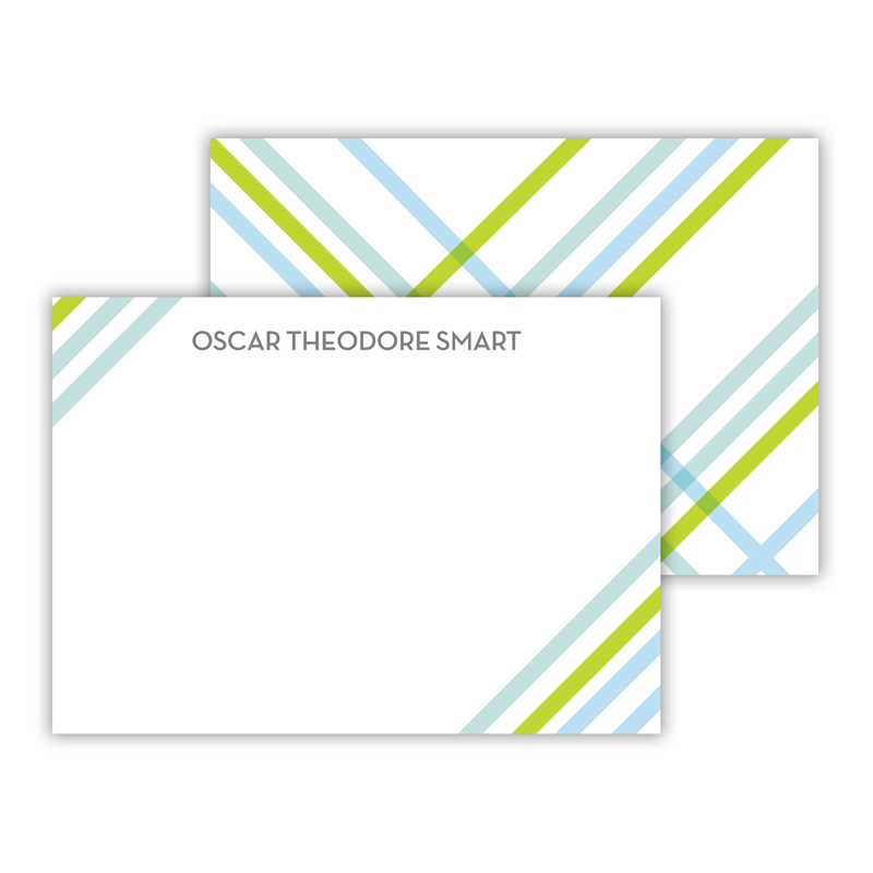 Theo Personalized Mini Flat Card (25)