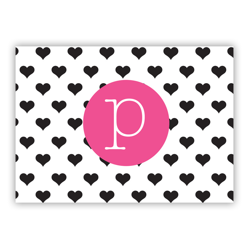 Minnie Personalized Mini Folded Note Cards (25 cards)