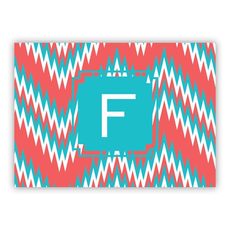 Mission Fabulous Personalized Mini Folded Note Cards (25 cards)