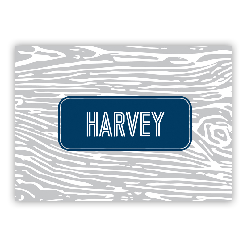 Varnish Personalized Mini Folded Note Cards (25 cards)