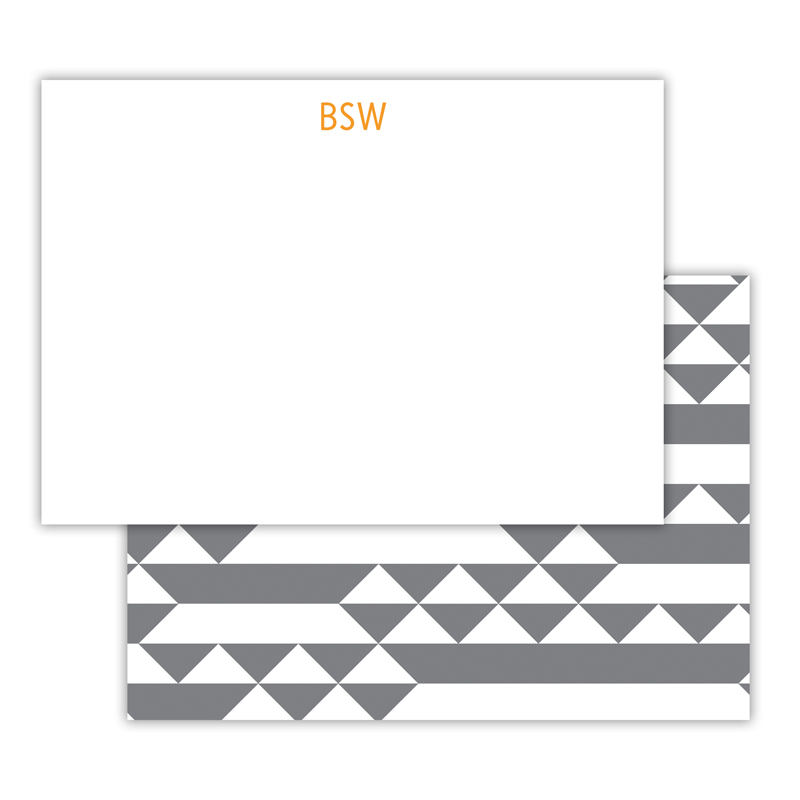 Bermuda Personalized Deluxe Flat Note Card (25 cards)