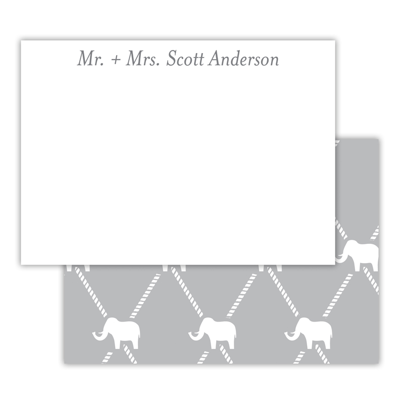 Dumbo Personalized Deluxe Flat Note Card (25 cards)