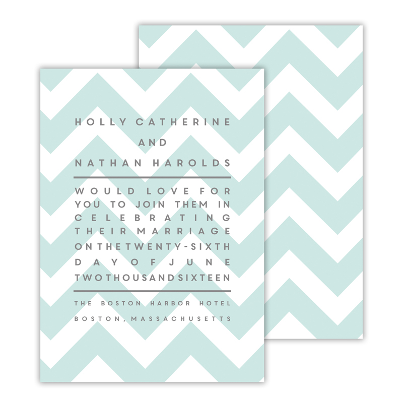 Ollie 2 Personalized Deluxe Flat Invitation or Save the Date Card (25 cards)