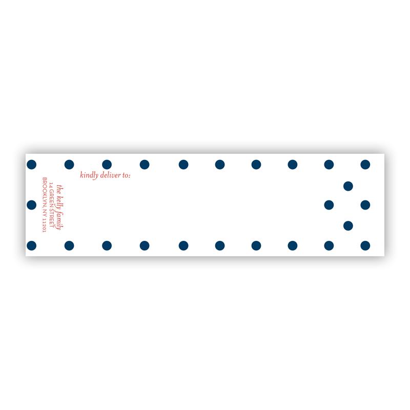 Dottie Personalized Wrap Around Address Labels (10 labels)