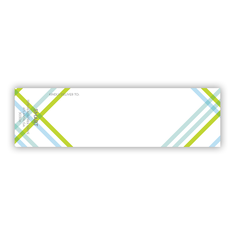 Theo Personalized Wrap Around Address Labels (10 labels)