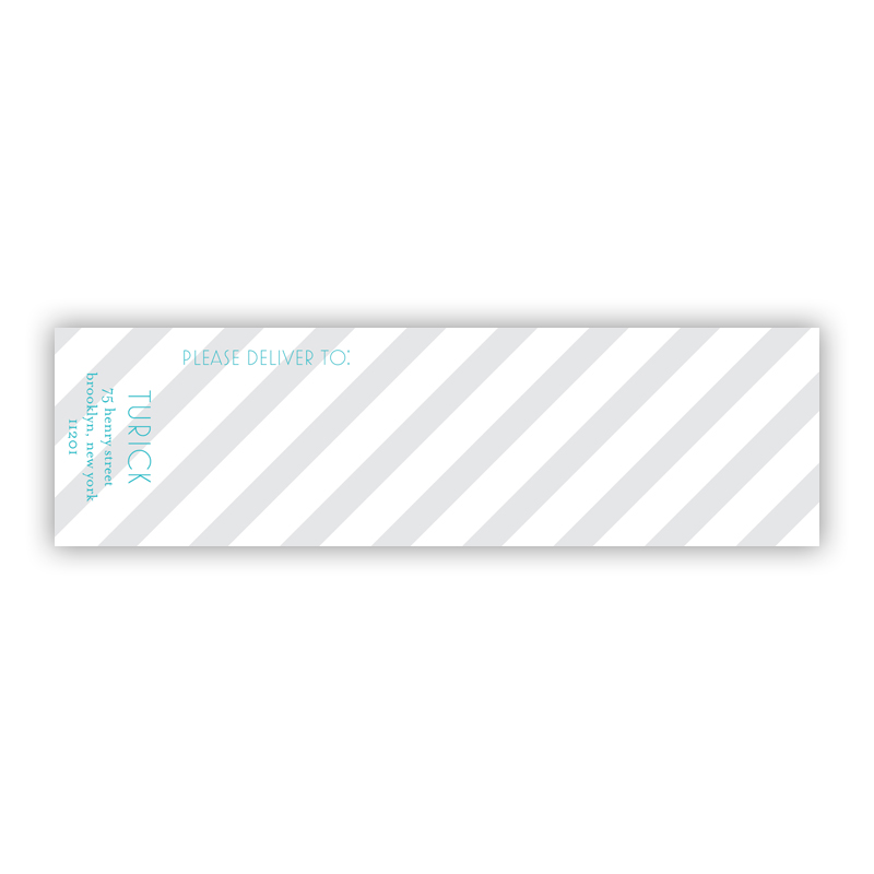 Beach Club 2 Personalized Wrap Around Address Labels (10 labels)