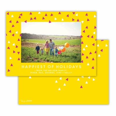 Sprinkles Happiest of Holidays  Sunshine Flat Photocard