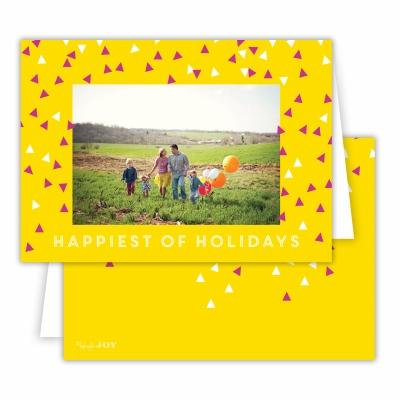 Holiday Sprinkles Sunshine Folded Photocard