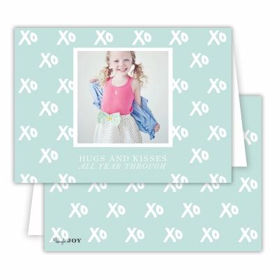 Hugs + Kisses Sea Folded Photocard