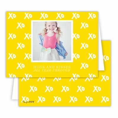 Hugs + Kisses Sunshine Folded Photocard