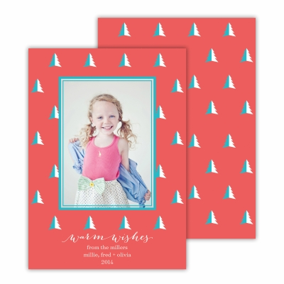 Evergreen Tree Coral Photocard