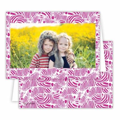 Bruno Fuchsia Folded Photocard