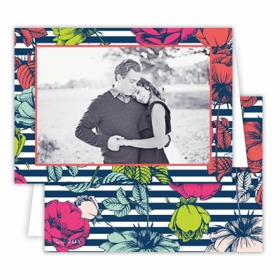 Millie Navy Folded Photocard