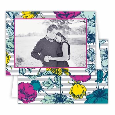 Millie Light Grey Folded Photocard