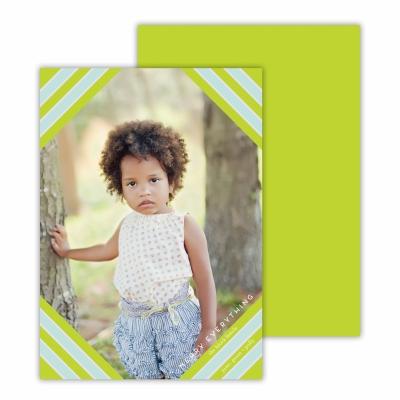 Hexagon Chartreuse Photocard