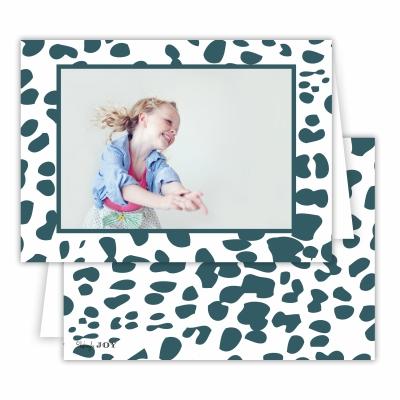 Cheetah Pine Folded Photocard