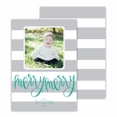 Merry Merry Cabana Light Grey Photocard