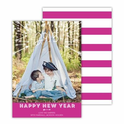 Arrows Fuchsia Photocard