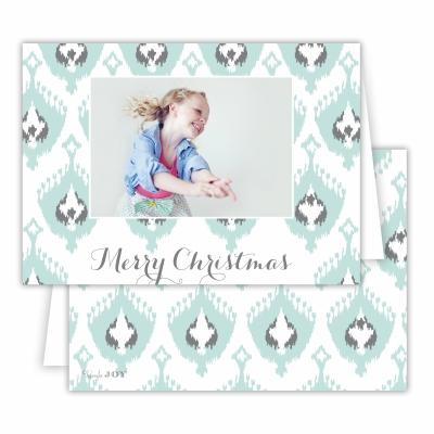 Merry Christmas Elsie Sea Folded Photocard